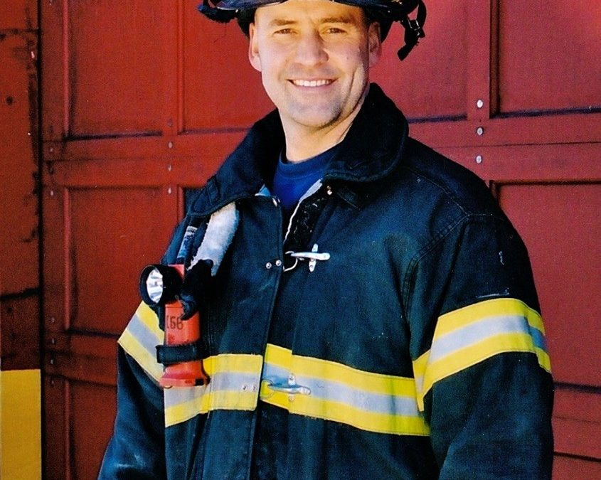 A Firefighter, Three Kids, Five Sharks, and a Dream