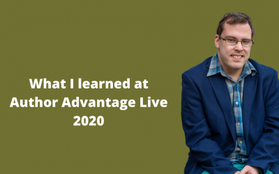 What I learned at Author Advantage Live 2020